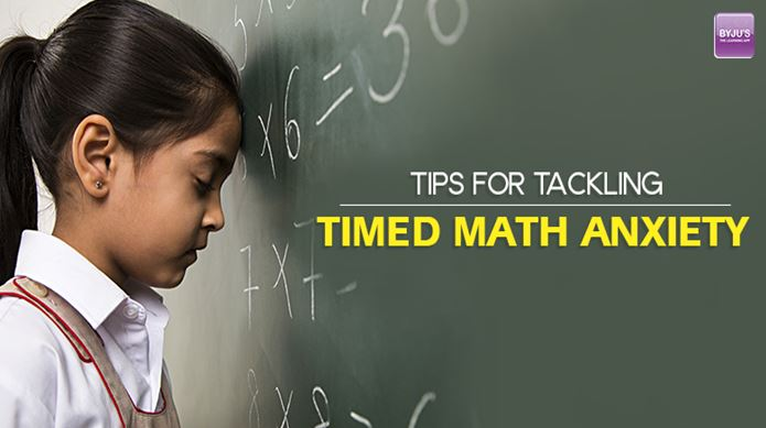 Tips for Tackling Timed Math Anxiety